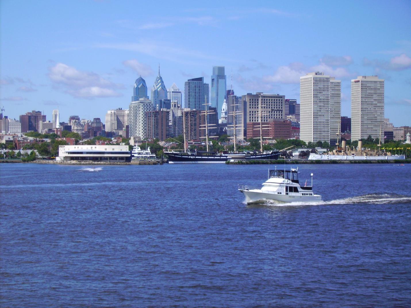 Fishtown, Delaware River