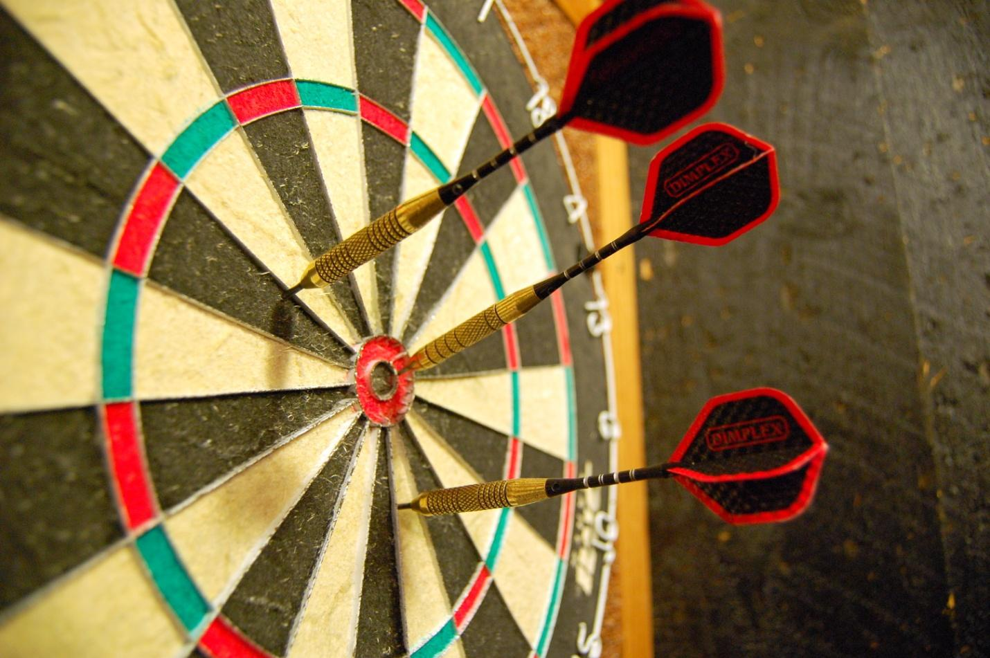 Darts is the ultimate bar game