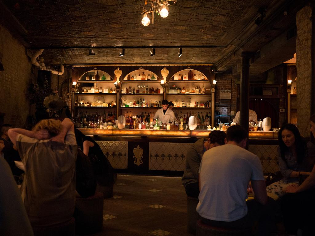 Speakeasy-style bars are popular with the crowd in Philly