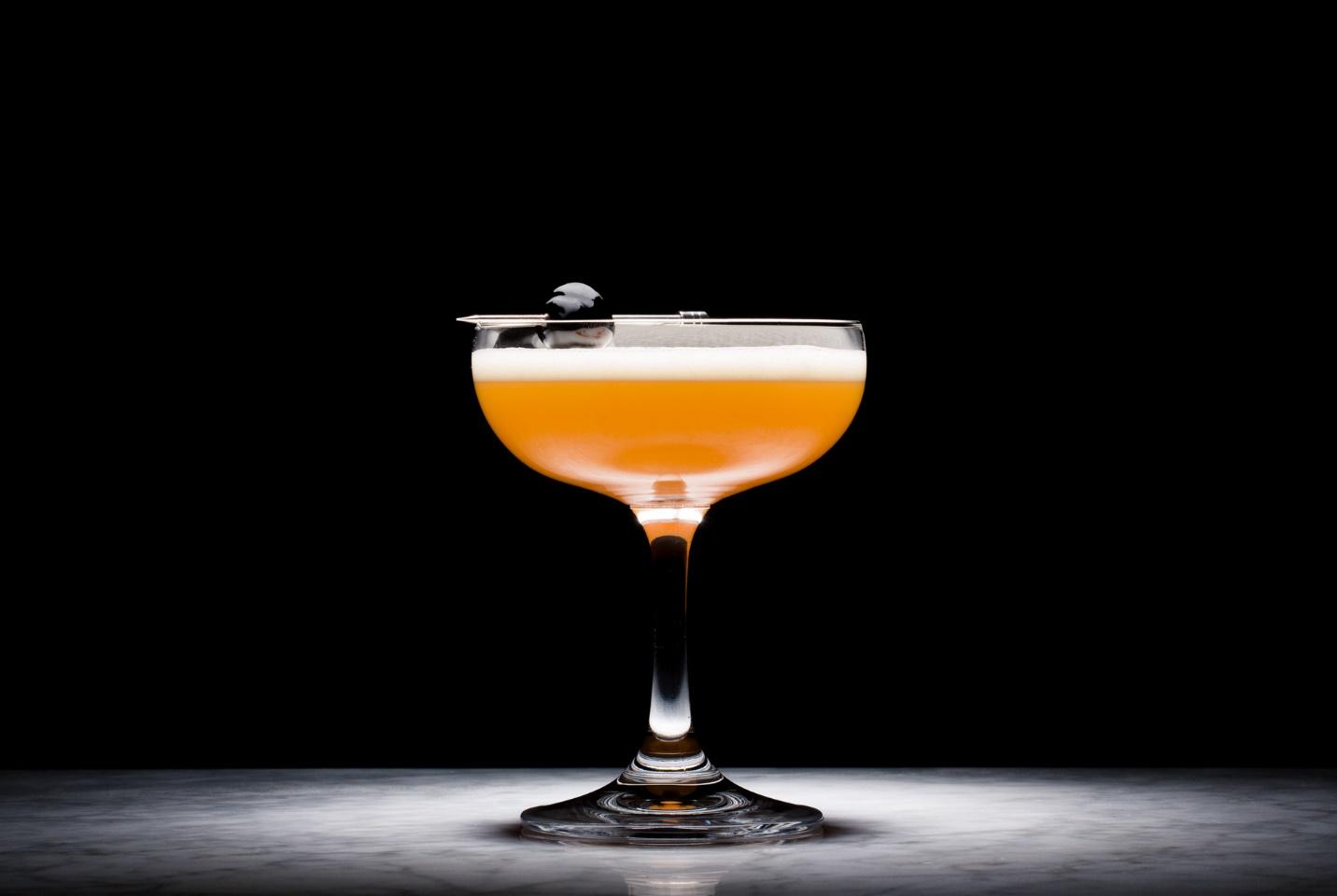 Golden Ticket cocktail